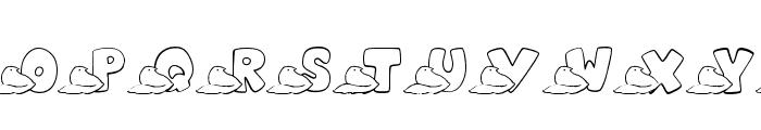 JLR Easter Peeps Font LOWERCASE