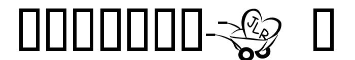JLR  Haulin' Love Font OTHER CHARS