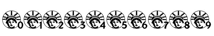 JLR Lady Liberty LSF Font OTHER CHARS