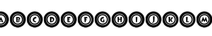 JLR Li'l Bit Tires Font LOWERCASE