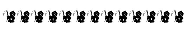 JLR Li'l Reaper Font UPPERCASE