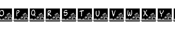 JLR School Slate Font UPPERCASE