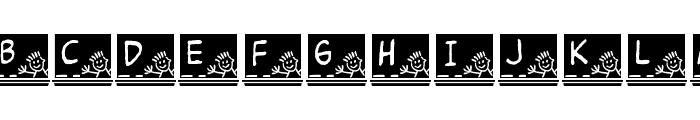 JLR School Slate Font LOWERCASE