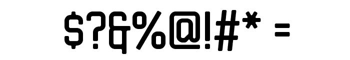 JLSDataGothic-CNC Font OTHER CHARS