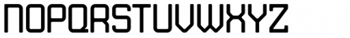 JLS Data Gothic Regular Font UPPERCASE