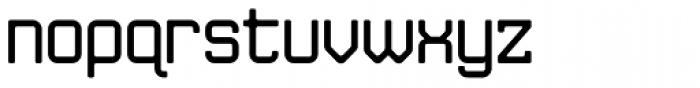 JLS Data Gothic Regular Font LOWERCASE
