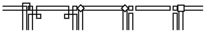 JLS Main Square Frames D Font UPPERCASE