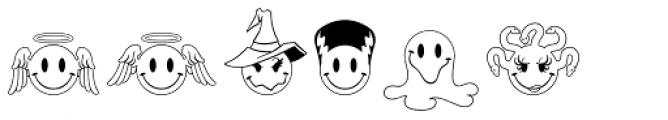 JLS Smiles Plus Font UPPERCASE