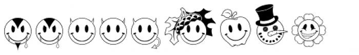 JLS Smiles Plus Font LOWERCASE