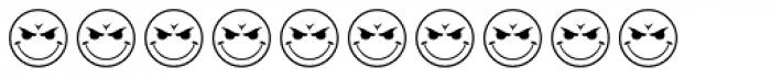 JLS Smiles Sampler Font OTHER CHARS