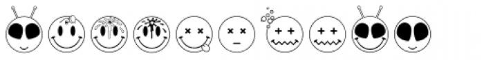 JLS Smiles Font OTHER CHARS