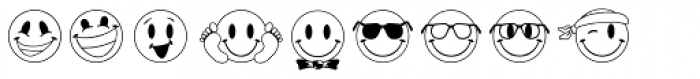JLS Smiles Font UPPERCASE