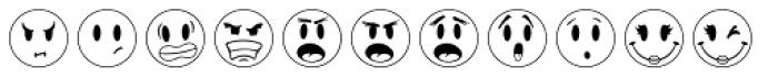 JLS Smiles Font LOWERCASE
