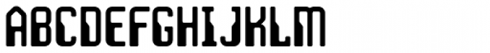 JLS Space Gothic Cond Font UPPERCASE