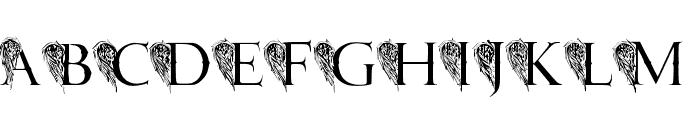 JMH Angelus II Font UPPERCASE