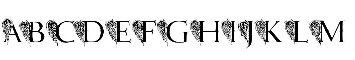 JMH Angelus II Font LOWERCASE