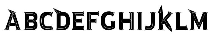 JMH Rastan Black Regular Font UPPERCASE