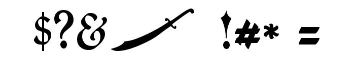 JMH Sindbad Font OTHER CHARS