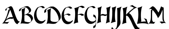 JMH Sindbad Font UPPERCASE