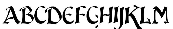 JMH Sindbad Font LOWERCASE
