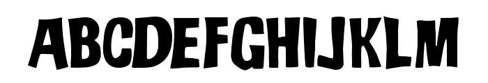 JMHADO-Regular Font LOWERCASE