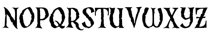 JMHArgos-Regular Font UPPERCASE