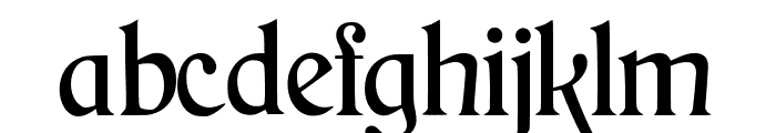 JMHArkham-Regular Font LOWERCASE