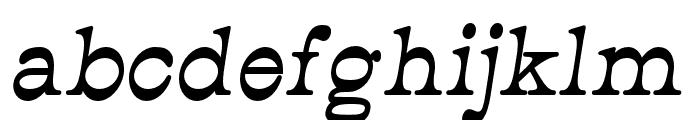 JMHCajita-BoldItalic Font LOWERCASE