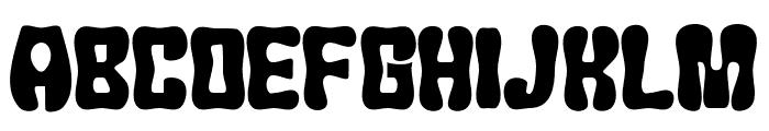 JMHChicle-Regular Font UPPERCASE