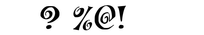 JMHCoronilla-Regular Font OTHER CHARS
