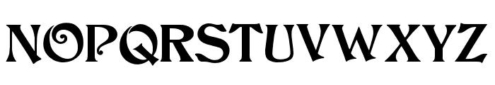 JMHCthulhumbus-Regular Font UPPERCASE