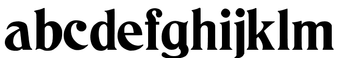 JMHCthulhumbus-Regular Font LOWERCASE