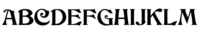 JMHCthulhumbusUG-Regular Font UPPERCASE