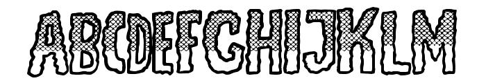JMHEscamasWhiteTop-Regular Font UPPERCASE
