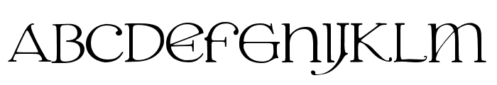 JMHGrace-Regular Font UPPERCASE