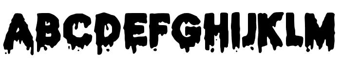 JMHHALLOWEEN-Regular Font UPPERCASE