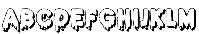 JMHHALLOWEEN3D-Regular Font LOWERCASE