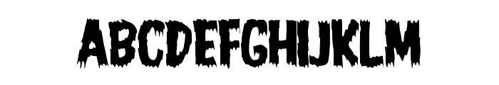 JMHHORROR-HORROR Font UPPERCASE