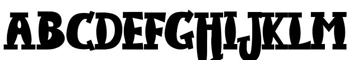 JMHHarryDicksonTwo-Regular Font UPPERCASE