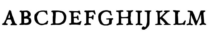 JMHLegajo-Bold Font UPPERCASE