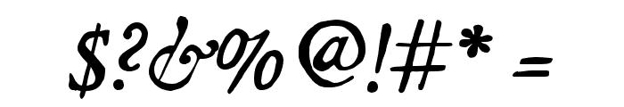 JMHLegajo-Italic Font OTHER CHARS