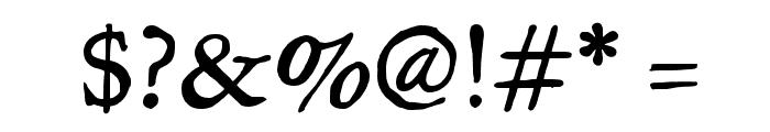 JMHLegajo-Regular Font OTHER CHARS
