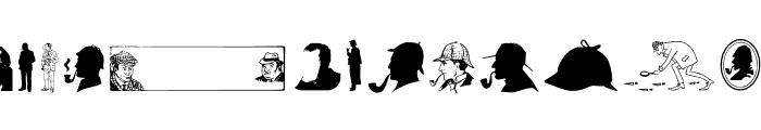 JMHMemoriasDingbats-Regular Font UPPERCASE