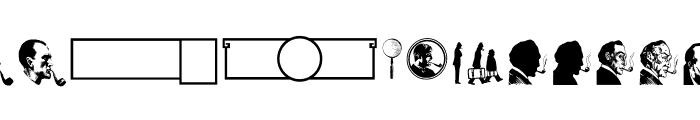JMHMemoriasDingbats-Regular Font LOWERCASE