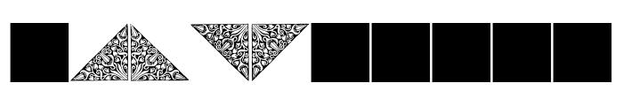 JMHMorenetaINI-Regular Font OTHER CHARS