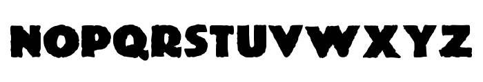 JMHMummySolid-Regular Font LOWERCASE