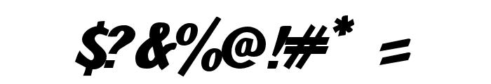 JMHPulpPaperback-Bold Font OTHER CHARS