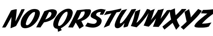 JMHPulpPaperback-BoldItalic Font LOWERCASE
