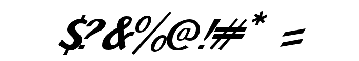 JMHPulpPaperback-Italic Font OTHER CHARS