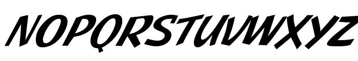 JMHPulpPaperback-Italic Font UPPERCASE